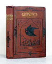 THE WEEKLY WELCOME. A magazine for the home circle. [Año 1878 completo]. With engravings after Sir Edwin Landseer, Sir John Gilbert, Birket Foster, W. J. Webb, R. Barnes, Harrison Weir, E. Hughes, A. W. Cooper and other eminent artists.  -