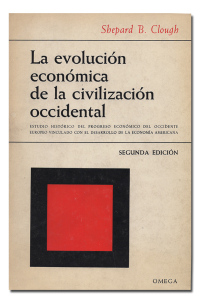 La evolución económica de la civilización occidental.  - CLOUGH (Shepard B.).