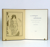 The Lysistrata of Aristophanes. Now first wholly translated into english and illustrated with eight full-page drawings by Aubrey Beardsley. London, 1896. Edición facsímil.  - ARISTOPHANES / AUBREY BEARDSLEY.