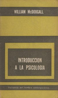 Introducción a la psicología.  - MCDOUGALL (William).