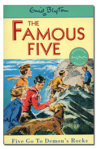 The famous five: Five go to Demon's Rocks. Illustrated by Eileen A. Soper.  - BLYTON (Enid).