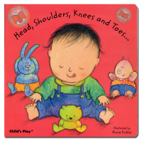 Head, shoulders, knees and toes. Illustrated by Annie Kubler.  - KUBLER (Annie).